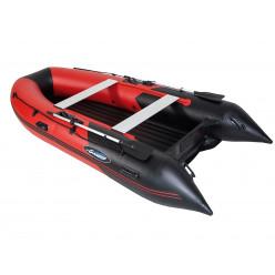 Лодка моторная Gladiator E 350 LT красно-черный