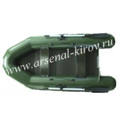 Лодка надувная моторная ПВХ Фрегат 280 ЕS