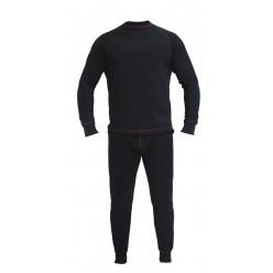 Термобелье Huntsman тк.флис цв.черный р.44-46 (S)