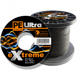 Плетеный шнур PE ULTRA EXTREME 0,80мм 100м черный