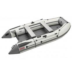 Моторная лодка ПВХ Zefir 3500 LT белый/графит Комби НДНД