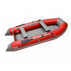 Моторная лодка ПВХ Zefir 3500 LT красный/серый НДНД