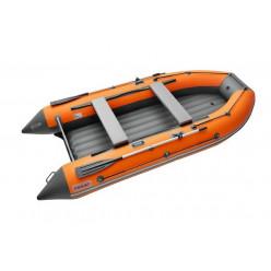 Моторная лодка ПВХ Zefir 3500 LT New КОМБИ оранжевый/т.серый НДНД