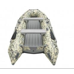 Моторная лодка ПВХ Zefir 3500 LT New пиксель Беж  НДНД