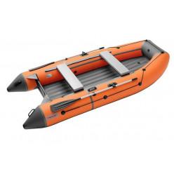 Моторная лодка ПВХ TROFEY 3300 оранжевый/т.серый НДНД