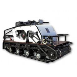 Мотобуксировщик БТС Long 500/15 с эл/зап (18А/216Ватт) катковая подвеска