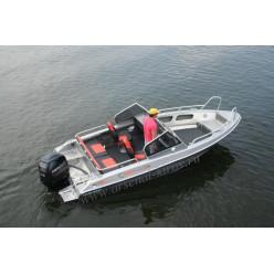 Катер алюминиевый TUNA Boats 550 DC