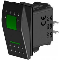 Кнопка вкл 3-поз (ВКЛ)-ВЫКЛ-(ВКЛ) 310112