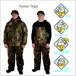 Костюм охотничий Canadian Camper зимний TRACKER taiga M
