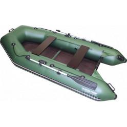 Моторно-гребная лодка ПВХ Аква 2900 С зеленый