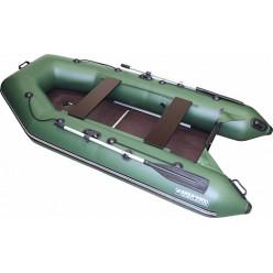 Моторно-гребная лодка ПВХ Аква 2900 СК зеленый