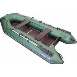 Моторно-гребная лодка ПВХ Аква 3200 СК зеленый