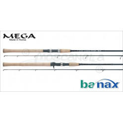 Спиннинг BANAX Mega 244 5-25 гр. MS80MF2