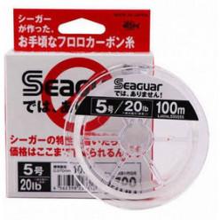 Леска флюорокарбон Seaguar Dewa Arimasen #4.0 100м 0.330мм