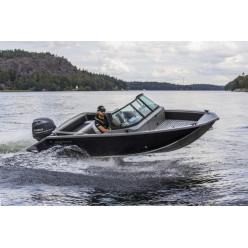Лодка Волжанка 46 Фиш транец 510мм с доп опциями