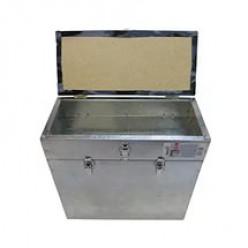 Ящик зимний алюминиевый 28л Ф-06