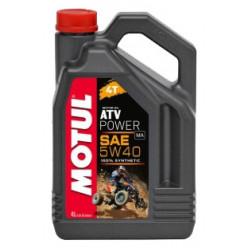 Мотороное масло MOTUL ATV Power 4T 5W40 4л
