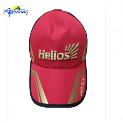 Бейсболка Helios цв. черный/красный